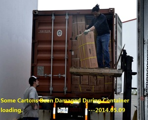 Some Cartons Been Damaged During Container loading