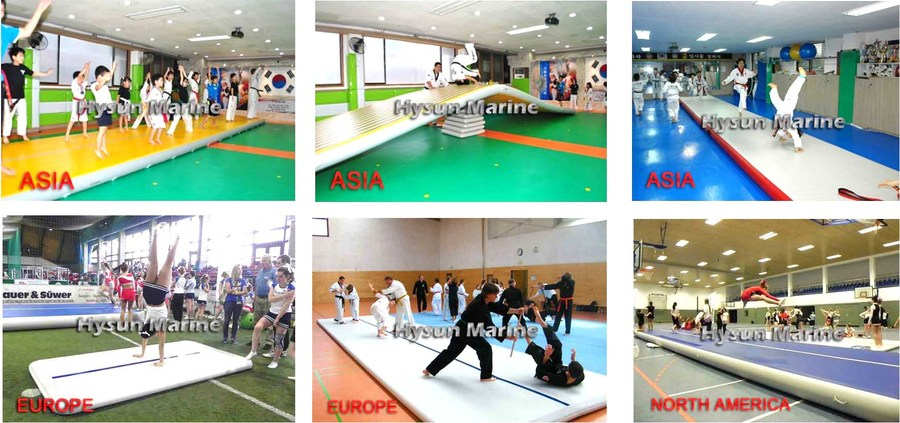 P Series Training Mats Customers Photos