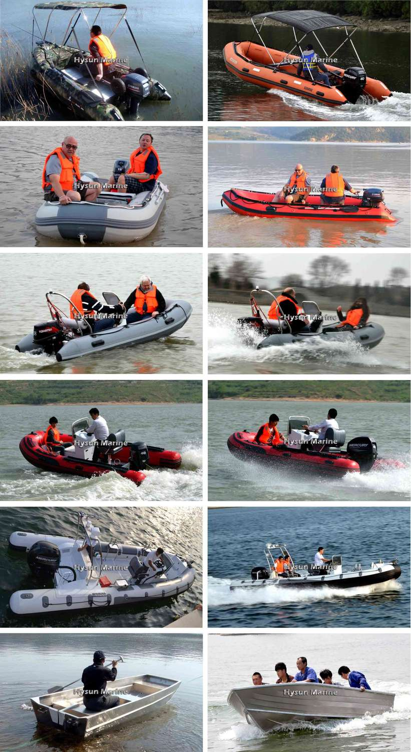 Hysun Marine Inflatable Boats Customers' Feedback