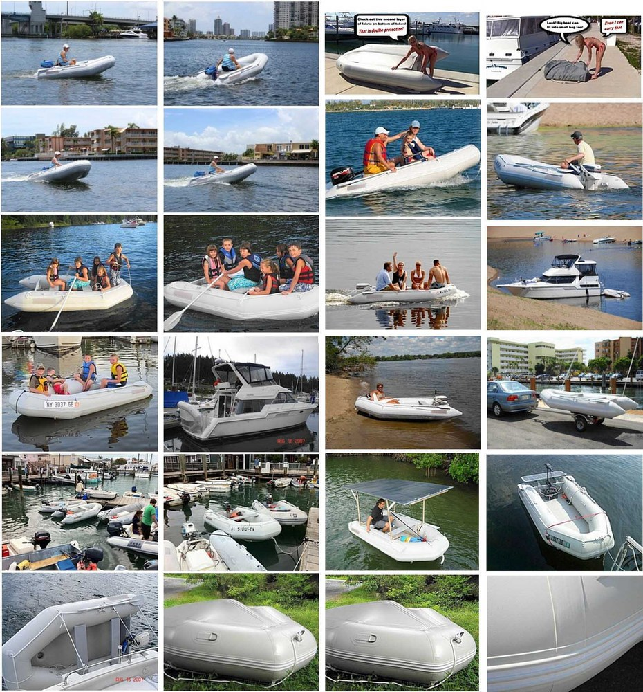 CM Series  Economy Version Inflatable Boats Customers Photos