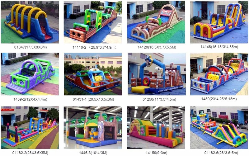 Hysun OEM Inflatable Obstacle Courses Photos