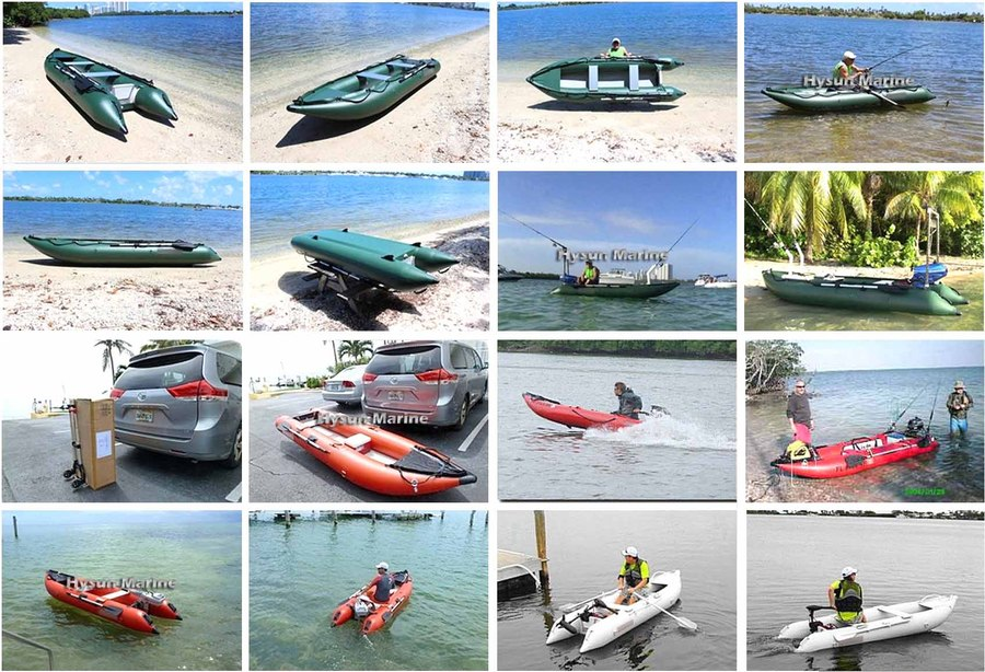 CKB395 Kayak Boats Customers Photos